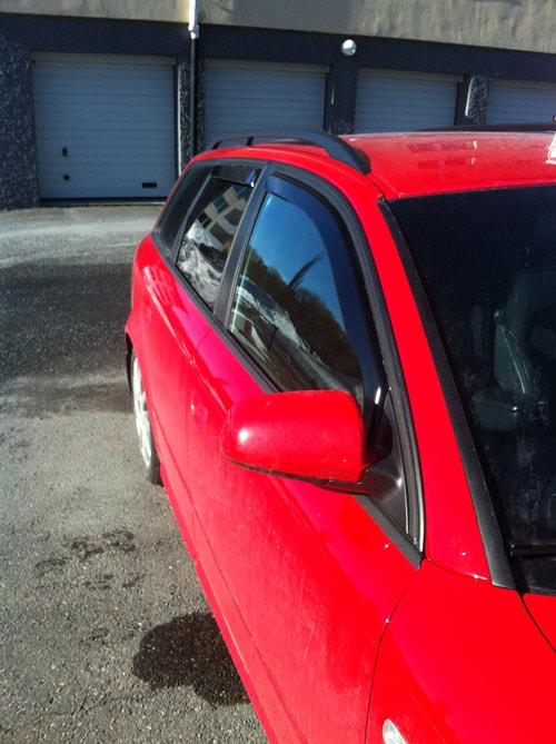 Wind reflectors Audi A4 8E/B7 Avant