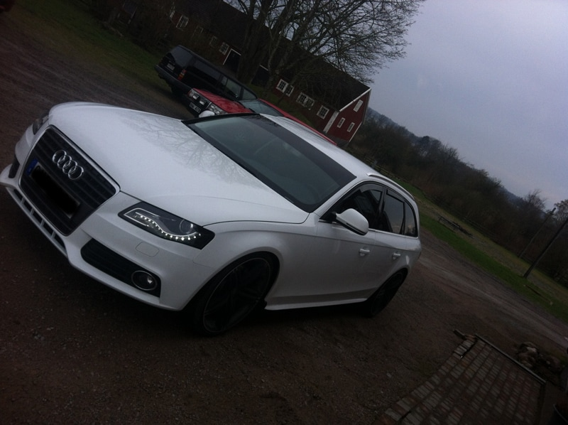 Wind reflectors Audi A4 Avant B8 09-15