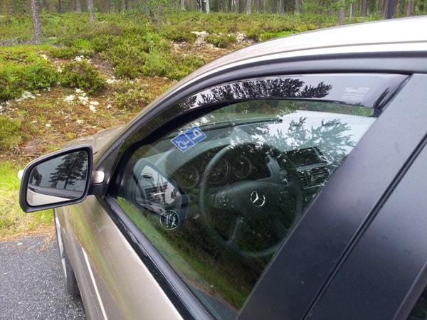 Vindavvisare Mercedes C-klass 204 Sedan 07-