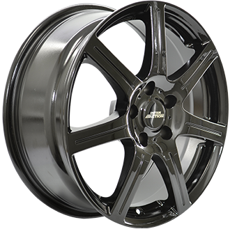 Complete Winter wheel set of Inter Sirius Black