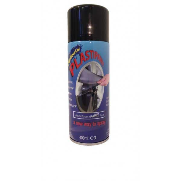 Svart Plasti Paint Spray