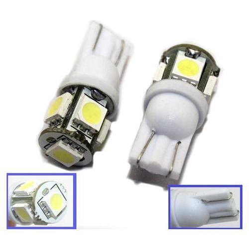 T10 LED Lampa 5 Dioder
